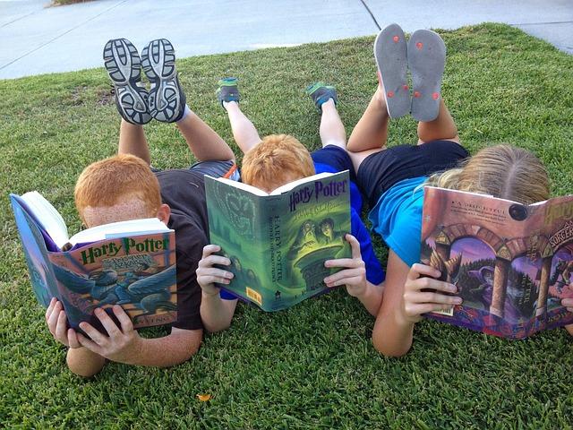 čtení Harryho Potera