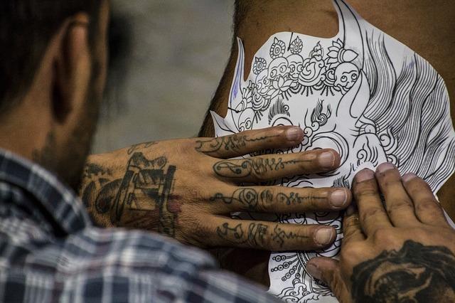 vzor na tetování