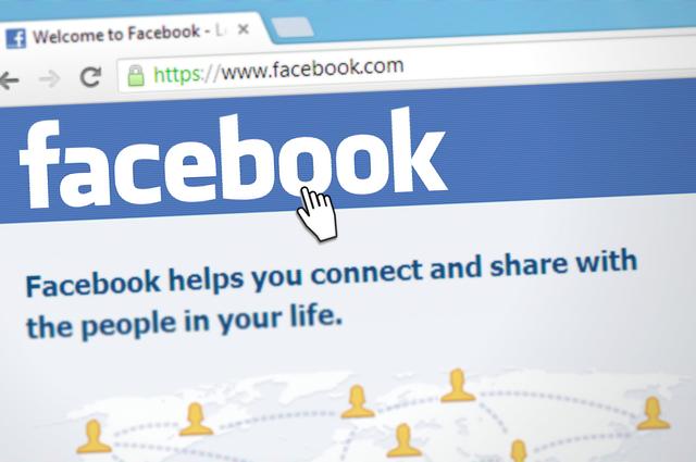 facebook a ukazatel myši