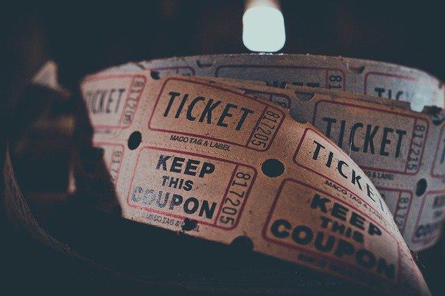 lístek do kina